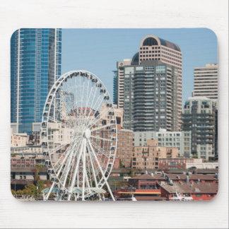 USA, Wa, Seattle. Argosy Harbor Cruise Boat Mouse Pad
