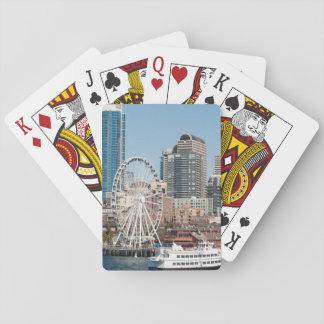 USA, Wa, Seattle. Argosy Harbor Cruise Boat Playing Cards