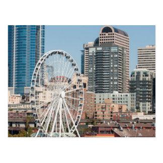 USA, Wa, Seattle. Argosy Harbor Cruise Boat Postcard