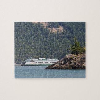 USA, WA. Washington State Ferries Jigsaw Puzzle