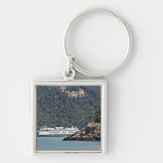 USA, WA. Washington State Ferries Keychain