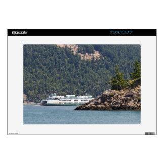 USA, WA. Washington State Ferries Laptop Decals