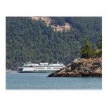 USA, WA. Washington State Ferries Postcard