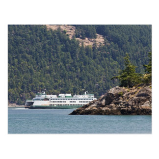 USA, WA. Washington State Ferries Postcard