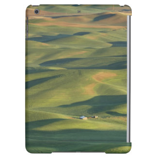 USA, WA, Whitman Co., Palouse Farm Fields From iPad Air Cases