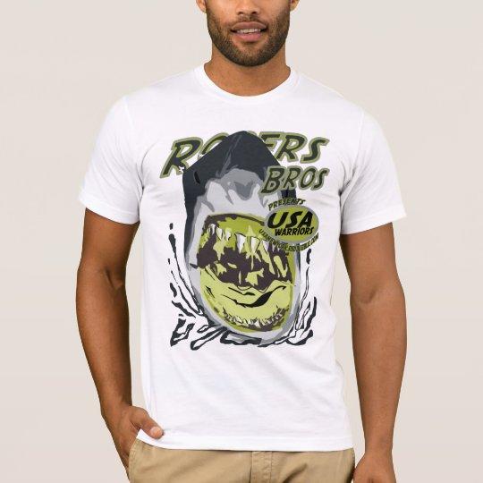usa warriors shark by rogers bros T-Shirt