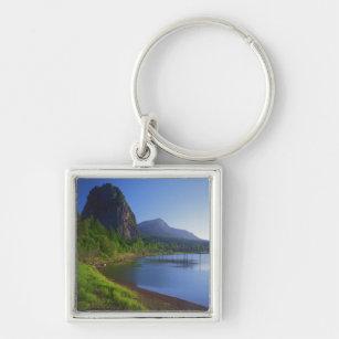 USA, Washington, Beacon Rock State Park, Beacon Keychain