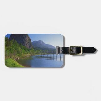 USA, Washington, Beacon Rock State Park, Beacon Tag For Luggage