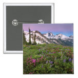 USA, Washington, Cascade Mountains, North Pinback Button