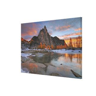 USA, Washington, Cascade Mountains. Prusik Canvas Print