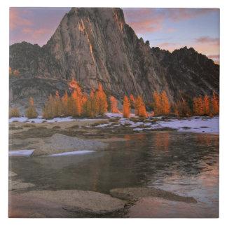 USA, Washington, Cascade Mountains.  Prusik Peak Tiles