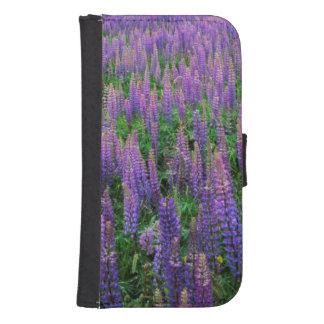 USA, Washington, Clallam County, Lupine Galaxy S4 Wallet Case