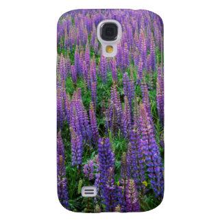 USA, Washington, Clallam County, Lupine Samsung Galaxy S4 Cover