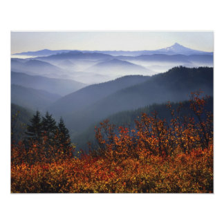 USA, Washington, Columbia River Gorge National Poster