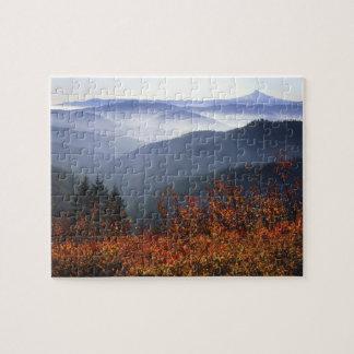 USA, Washington, Columbia River Gorge National Puzzle