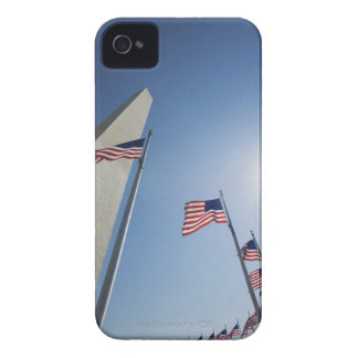 USA, Washington, D.C. American flags surround iPhone 4 Cases