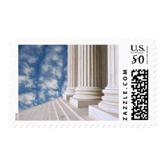 USA, Washington, D.C. Close-Up Of Columns Postage