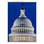 USA, Washington, D.C. Close-up of the Capitol Cards