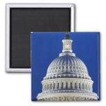 USA, Washington, D.C. Close-up of the Capitol Refrigerator Magnets