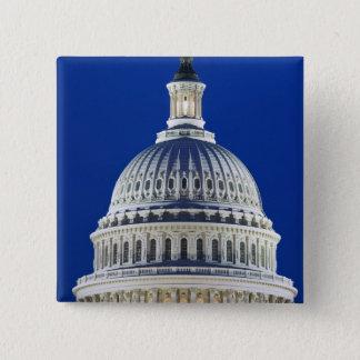 USA, Washington, D.C. Close-up of the Capitol Pinback Button