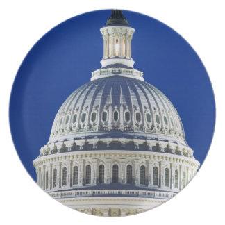 USA, Washington, D.C. Close-up of the Capitol Plate