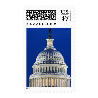 USA, Washington, D.C. Close-up of the Capitol Postage Stamp