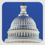 USA, Washington, D.C. Close-up of the Capitol Square Sticker