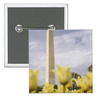 USA, Washington, D.C. The Washington Monument as Pinback Button