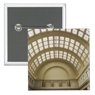 USA, Washington, D.C. View of ceiling 2 2 Inch Square Button