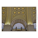 USA, Washington, D.C. View of ceiling Greeting Cards