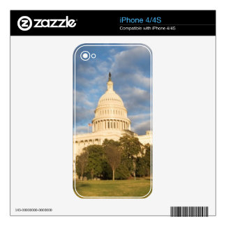 USA, Washington DC, Capitol building Decal For The iPhone 4
