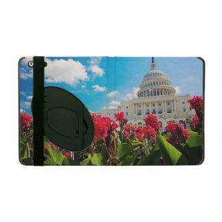 USA, Washington DC, Capitol Building iPad Folio Case