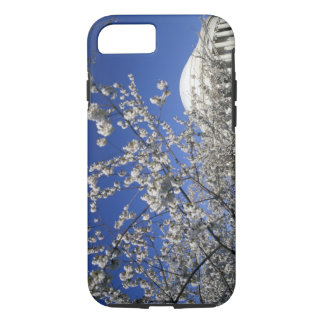 USA, Washington DC. Cherry Blossom Festival and 2 iPhone 7 Case