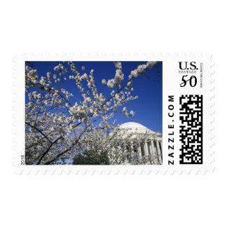 USA, Washington DC. Cherry Blossom Festival and 2 Postage