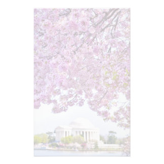 USA, Washington DC, Cherry tree in bloom Stationery