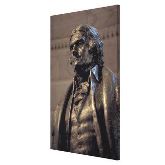 USA, Washington DC. Thomas Jefferson Memorial. Gallery Wrap Canvas