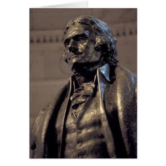 USA, Washington DC. Thomas Jefferson Memorial. Card