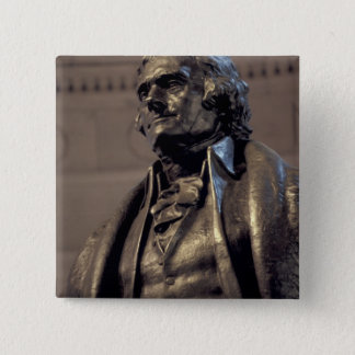 USA, Washington DC. Thomas Jefferson Memorial. Pinback Button