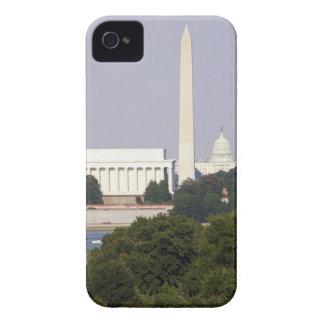 USA, Washington DC, Washington Monument and US iPhone 4 Case