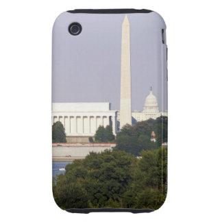 USA, Washington DC, Washington Monument and US Tough iPhone 3 Cover