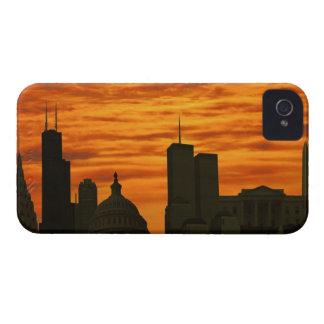 USA, Washington DC, White House and World trade iPhone 4 Case-Mate Case