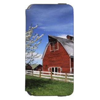 USA, Washington, Ellensburg, Barn iPhone 6/6s Wallet Case