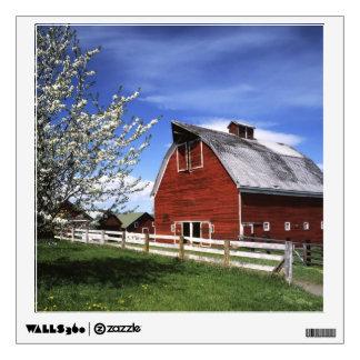 USA, Washington, Ellensburg, Barn Wall Decal