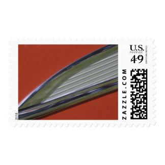 USA, Washington, Everett. Side molding detail of Stamp