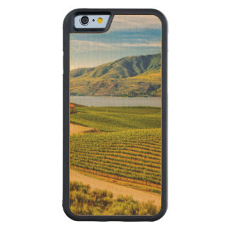 USA, Washington, Lake Chelan. Benson Vineyards Carved Maple iPhone 6 Bumper Case