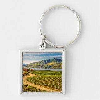 USA, Washington, Lake Chelan. Benson Vineyards Keychain