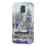 USA, Washington, Methow Valley, Barns in Galaxy S5 Cover