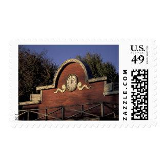 USA, Washington, Methow Valley, Winthrop. Old Stamp