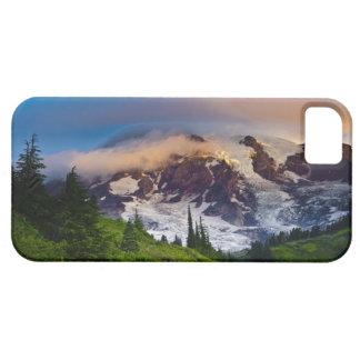 USA, Washington, Mt. Rainier. Morning sun iPhone 5 Cover