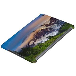 USA, Washington, Mt. Rainier. Morning sun iPad Air Cases